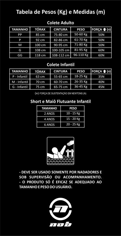 Colete Nob Kite Pro Flex - Nob Multisports  Coletes de flutuação ... d511e083f4949